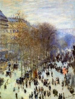 Claude Monet: Boulevard des Capucines, 1873