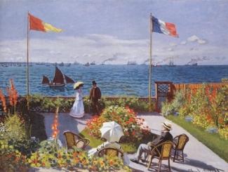Claude Monet: Kert Sainte-Adresse-nél