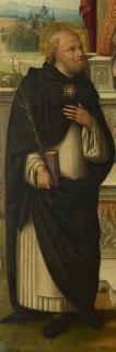 Szent Dominik - részlet
