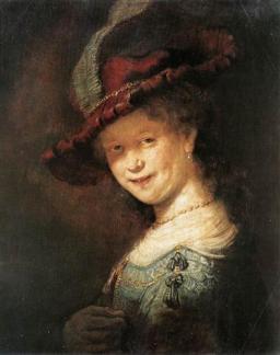 Rembrandt: Saskia, 1633, Gemäldegalerie, Drezda