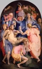 Jacopo Pontormo: Levétel a keresztről, 1528, Santa Felicita, Firenze