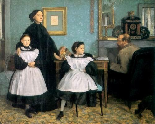 Edgar Degas: A Bellelli-család, 1858–1860, Louvre, Párizs
